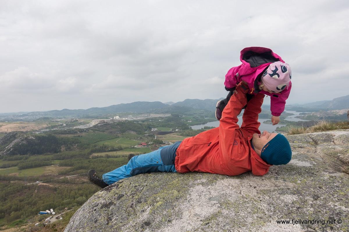 Sygno - Barnevennlig topptur i Sandnes