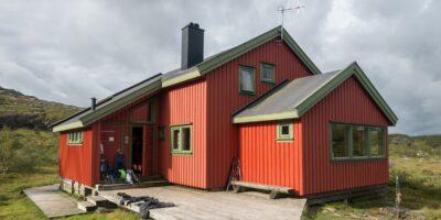 Taumevatn Turisthytte - Sommerrute fra Ådneram