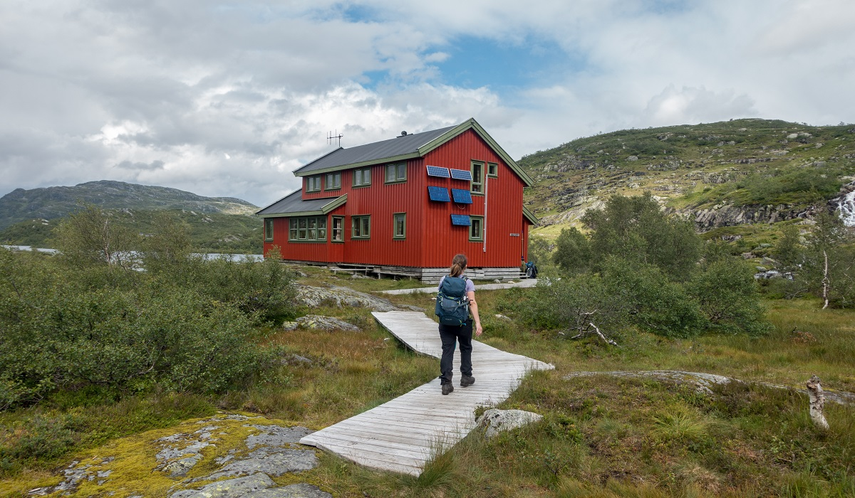 Taumevatn turisthytte - Nydelig hytte innpå fjellet