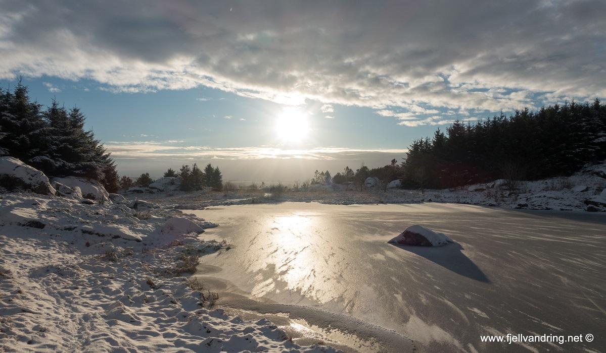 Tjoratjørn - En lavterskel telttur i flotte omgivelser