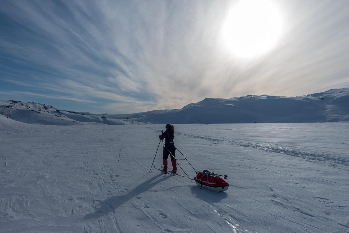 Tomannsbu turisthytte - Med ski og pulk