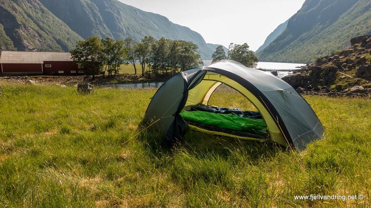 Trodla-Tysdal - Vi har tatt med oss teltet