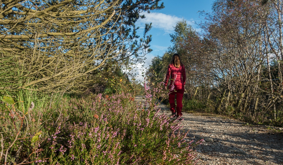 Varberg - Turen starter på grusvei