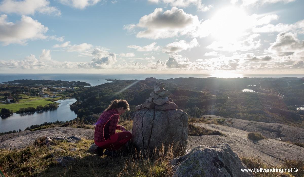 Varberg - Fin utsikt fra toppen