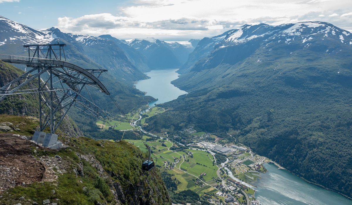 Via Ferrata Loen - Loen Skylift