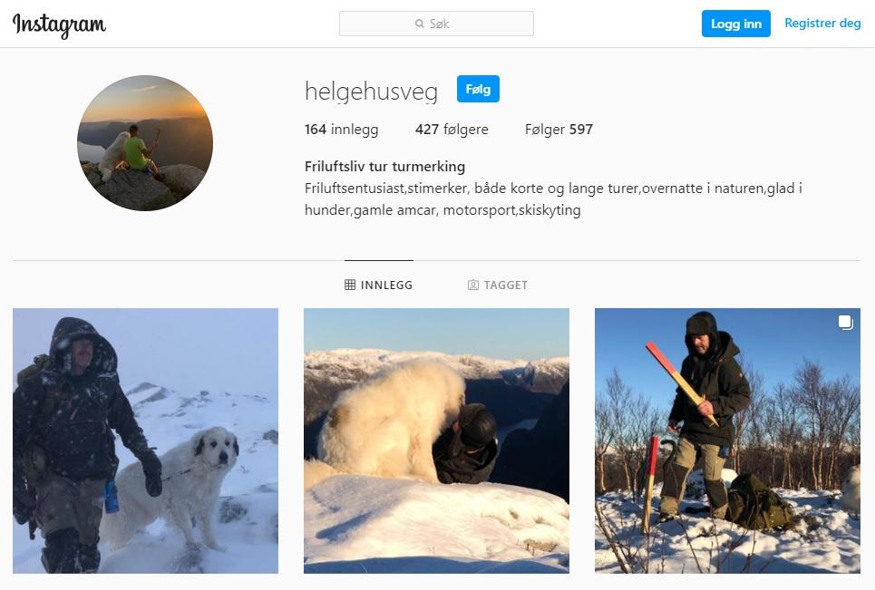 Helge Husveg - Instagram