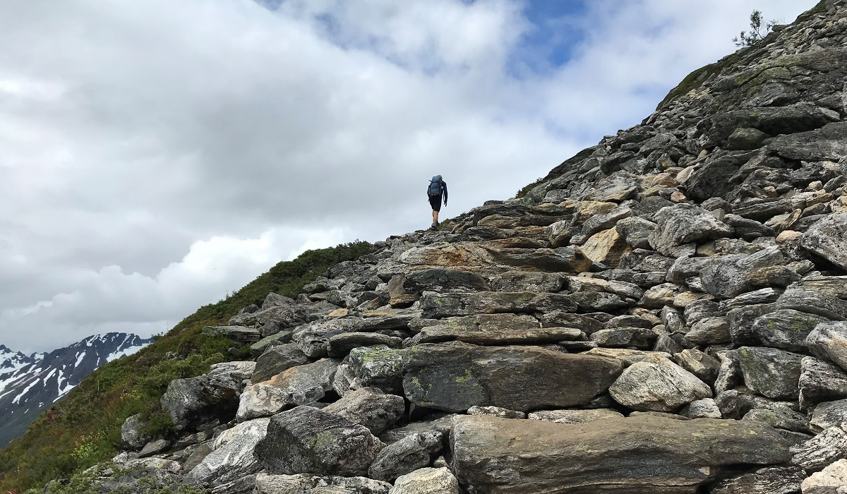 Saksa - I sherpatrapper på vei mot toppen