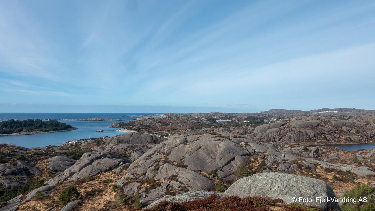 Nordra Sundet - Utsikt mot Trosaviga og Storevarden