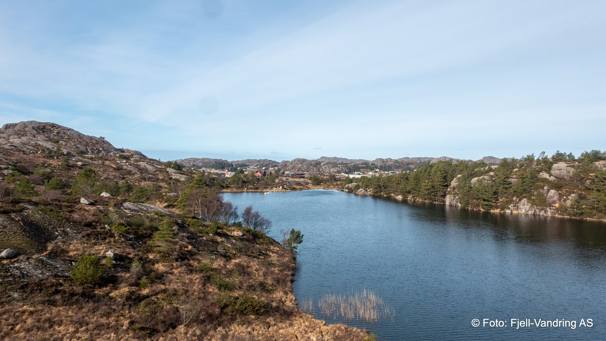Nordra Sundet Friluftsområde - Krotjørna