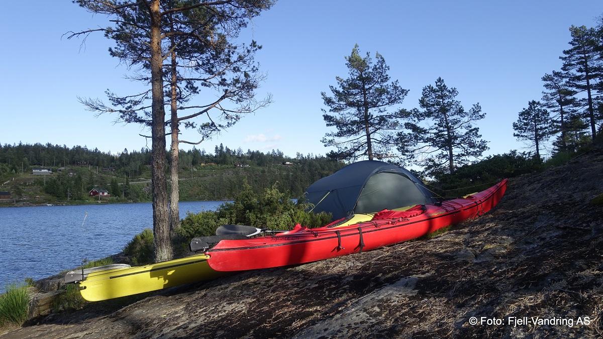 Ogge - Camp på Vassbotnøya