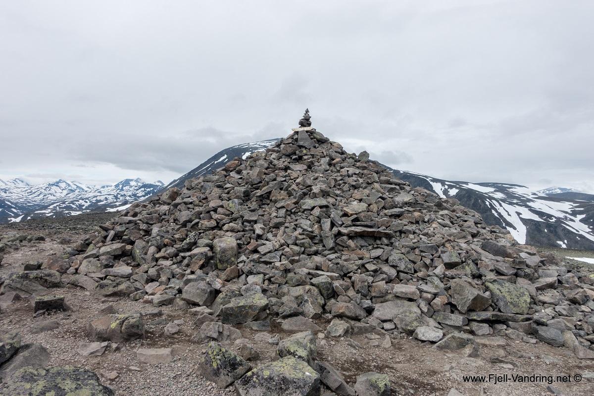 Besseggen - Veslefjellet 1743 moh.