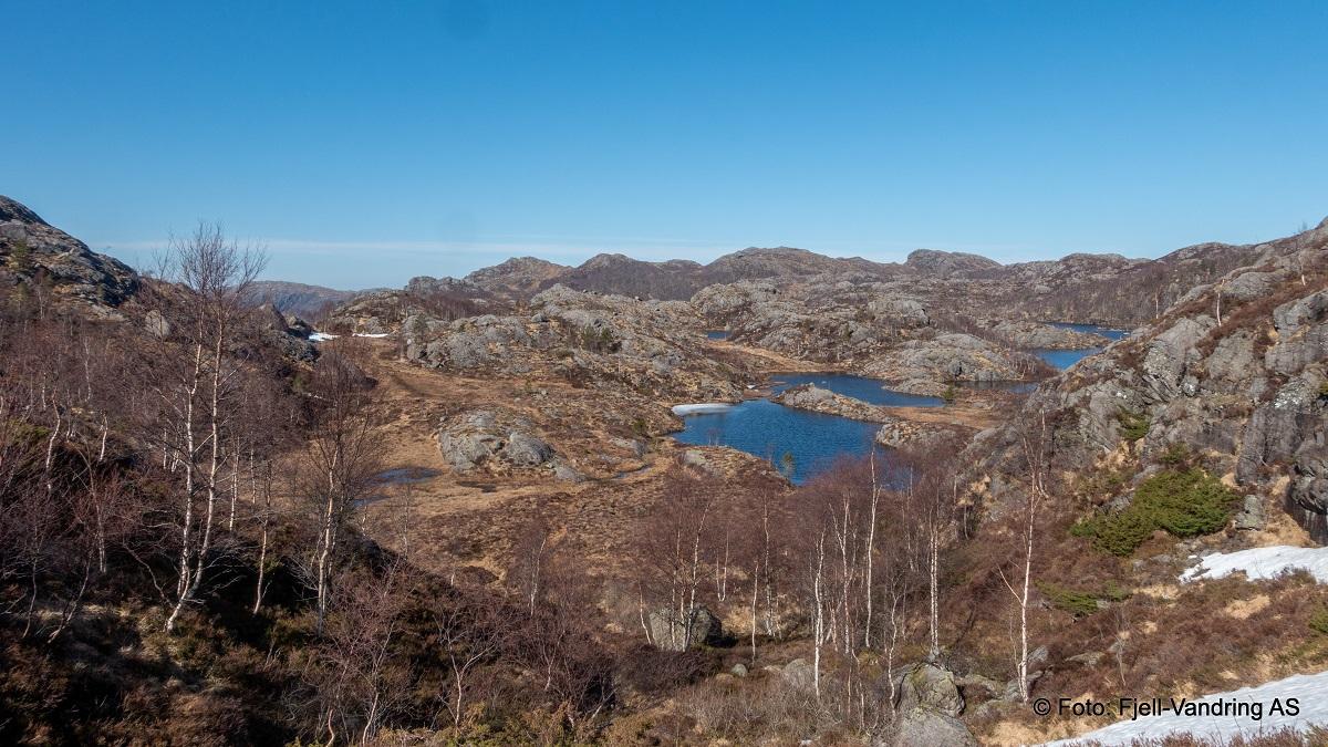 Marsteinfjellet - Flott terreng