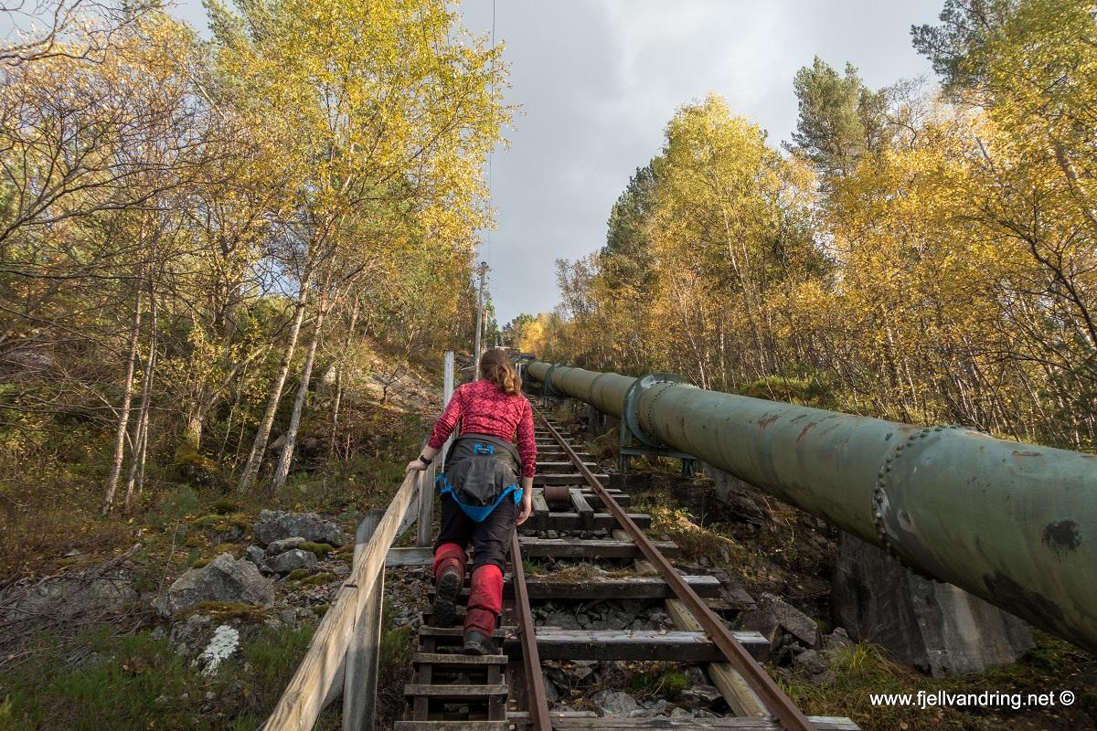 Flørlitrappene - Via Rallarstien