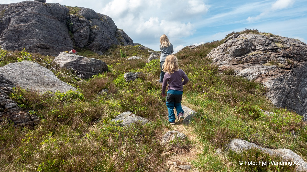 Smørkamdalen - En barnevennlig tur